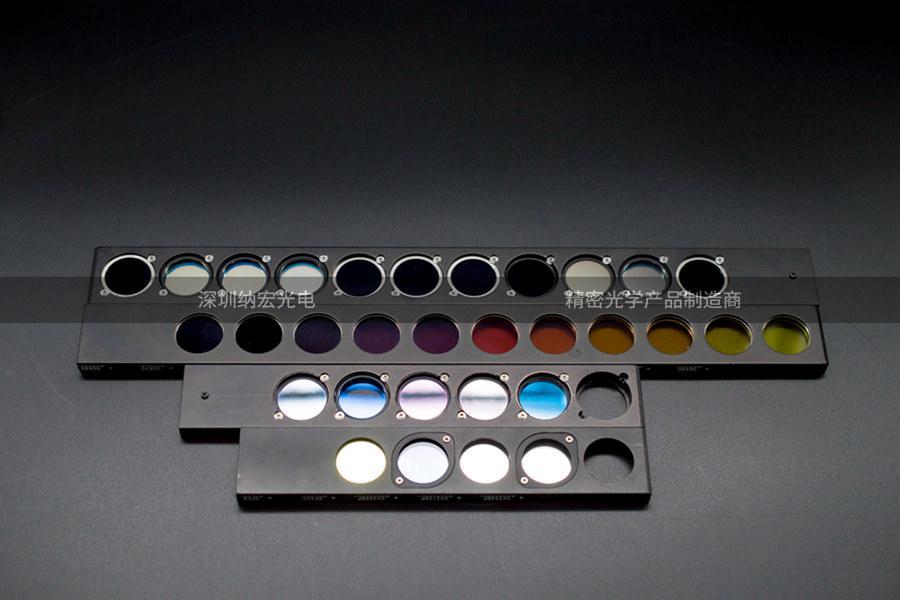 水质检测滤光片实物图