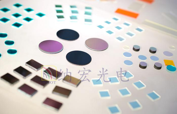 ISO9001认证的滤光片产品