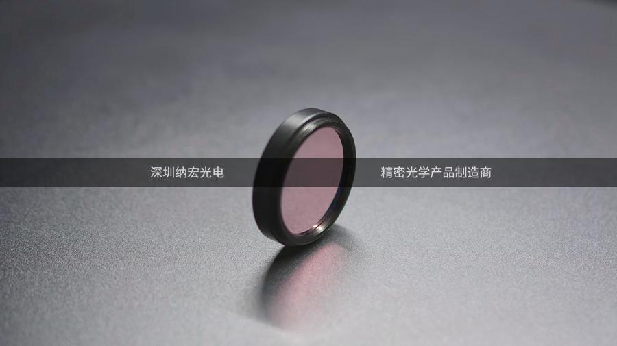 超窄滤光片的实物图