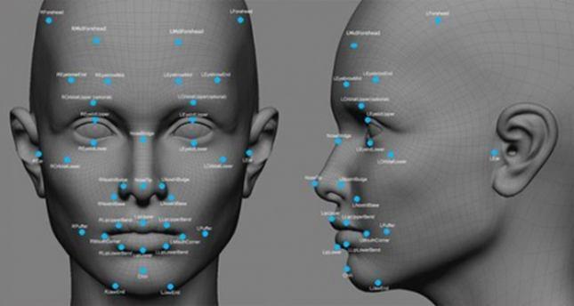 人脸识别滤光片示意图